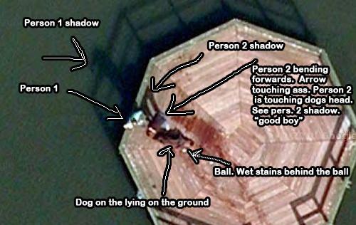 Google Map Dead Body Found